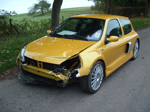 Renault Clio V6 Gallery Jessop Motor Bodies Accident